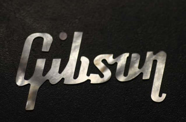 gibson les paul logo vector