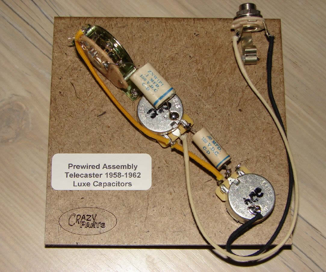 cate58 62L croxguitars guitar parts & upgrades contact pre wired telecaster wiring harness at mifinder.co