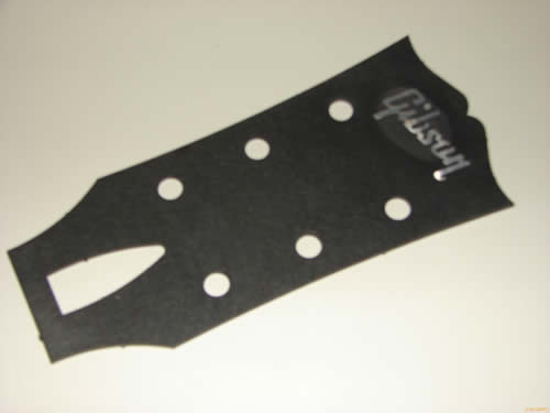 Gibson Les Paul Headstock Template building a les paul style guitar ...